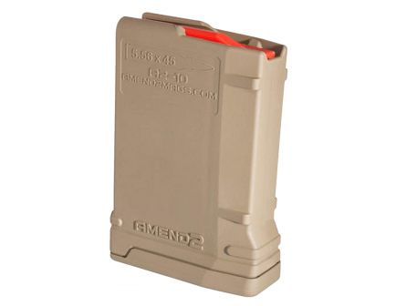 Amend2 10 Round AR-15 Magazine 223 Remington/5.56 NATO, Flat Dark Earth - 556MOD2FDE10