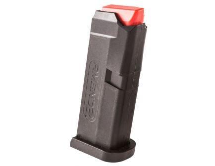 Amend2 A2 6 Round .380 ACP Glock 42 Detachable Magazine, Black - A2GLOCK42BLK