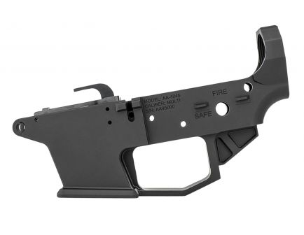 Angstadt Arms .45 ACP Lower Receiver, Hard Coat Anodized Matte Black - AA1045LRBA