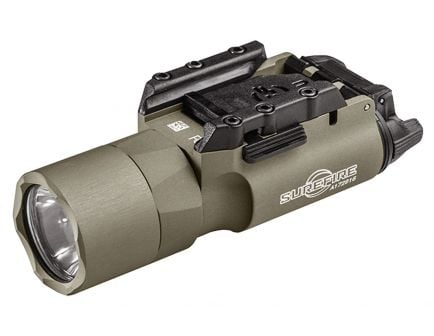 Surefire X300 Ultra 1000 lm LED Weapon Light Rail-Lock Mounting System, Tan - X300UATN
