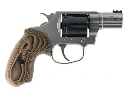 Colt Cobra Two Tone 38 Special +P Double 6 Round Revolver, Matte - COBRATT2FO
