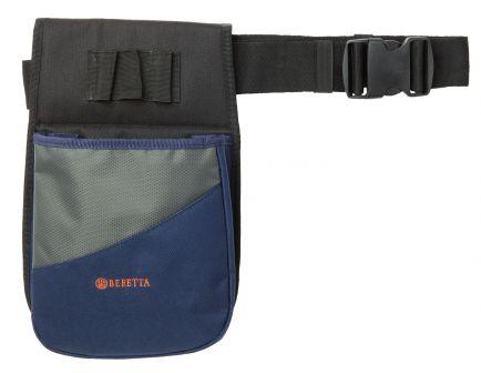Beretta Uniform Pro Shell Pouch, 50 Shell, Blue/Gray - BSL10189054V