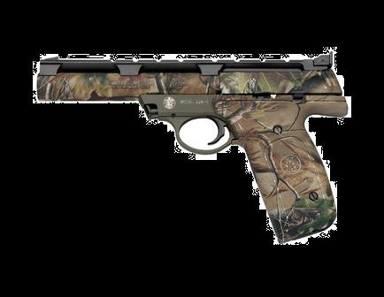 """Smith & Wesson M&P22A .22 LR 5.5"""" Barrel w/ Realtree APG Finish Rimfire Pistol 107442"""