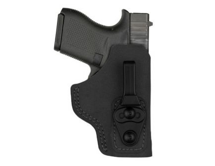 Bianchi 6T Waistband Tuckable Holster for Glock 43 and SIG P365, Black - 10758c