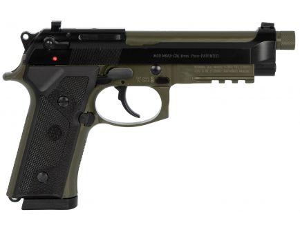 Beretta M9A3 Type G 9mm Pistol 17 Round, Green and Black - J92M9A3GM1