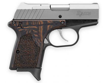 Remington RM380 Micro Blue/Silver 380 ACP 6+1 Round Pistol, Anodized Black - 96246