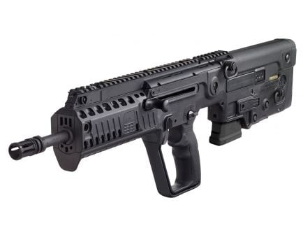 IWI Tavor X95 Restricted State Model .223 Rem/5.56 Semi-Automatic Gas Piston Action Rifle, Black - XB1610
