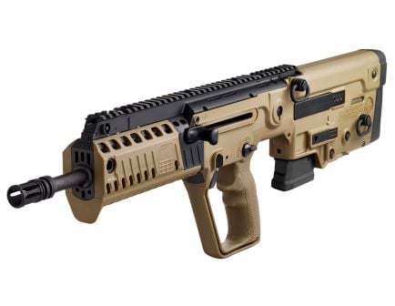IWI Tavor X95 Restricted State Model .223 Rem/5.56 Semi-Automatic Gas Piston Action Rifle, FDE - XFD1610