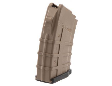 TAPCO MAG0610 10 Round 7.62x39mm Intrafuse AK-47 Aggressive Grip Magazine, Black - 16641