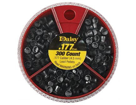 Daisy Outdoor Products .177 7.29 gr Flat Pointed Hollow Point Dial-A-Pellet, 300/pack - 987781-446