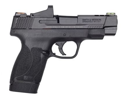 "Smith & Wesson Performance Center M&P 45 Shield M2.0 4"" Ported Barrel and Slide .45 ACP Pistol, Matte Blk - 11866"