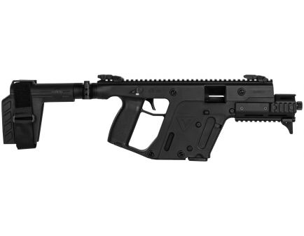 Kriss Vector Gen II SDP-SB Enhanced Black 45 ACP 13+1 Pistol, Black - KV45PSBBL31