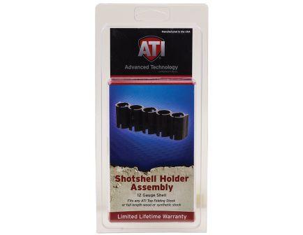ATI Shotforce 5 Loop Buttstock Shell Holder, Black - SHO0500