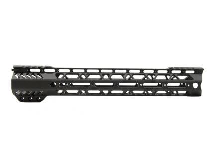 """PSA Custom Cross-Cut Lightweight 12.5"""" MLOK Partial Picatinny Handguard"""