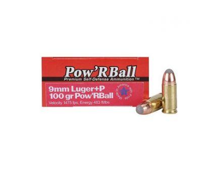 Cor-Bon 9mm+P 100gr Urban Response Ammunition 50rds - UR09100/50