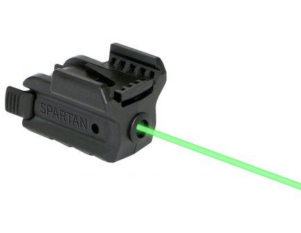 LaserMax Spartan Green Adjustable Fit Rail Mounted Laser Gunsight - SPS-G