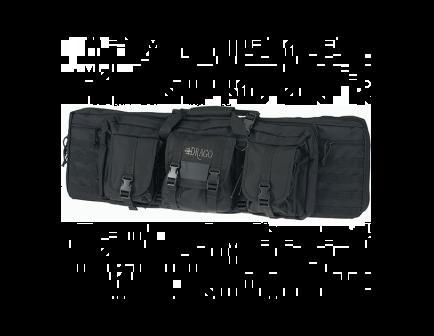 """DRAGO 36"""" Double Tactical Gun Case 12301BL"""