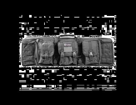 """DRAGO 36"""" Double Tactical Gun Case Grey 12301GY"""