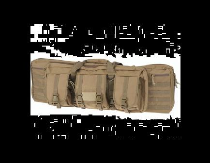 """DRAGO 36"""" Double Tactical Gun Case Tan 12301TN"""