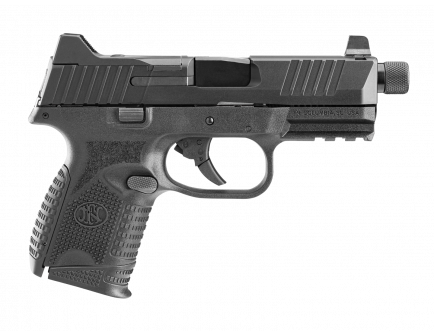 FN 509 Compact Tactical 9mm Pistol With Threaded Barrel, Black