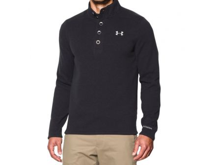 Under Armour Men's Specialist Storm Sweater, Black- 1238296-001