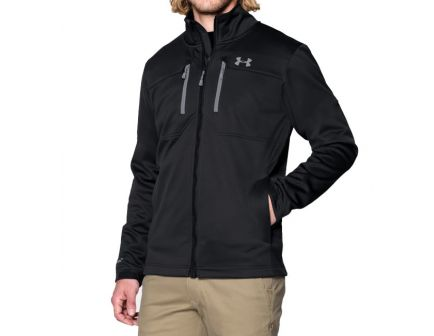 Under Armour Storm ColdGear Infrared Softershell Jacket, Black- 1247045-001