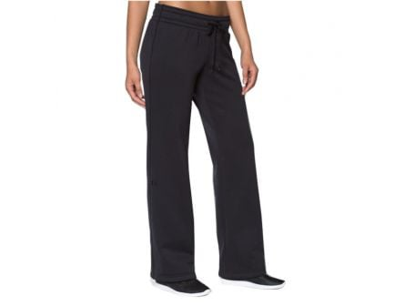 Under Armour Women's Armour Fleece Pants, Black - 1248645-006