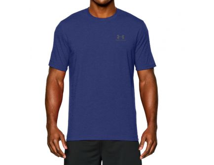 Under Armour Men's Charged Cotton Sportstyle T-Shirt, Royal Blue (2XL) - 1257616-400