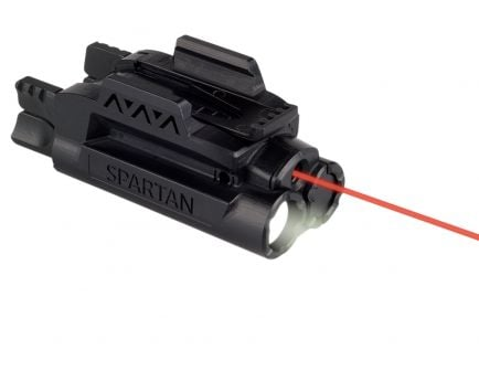 LaserMax Spartan Red Adjustable Fit Light and Laser Gunsight - SPS-C-R