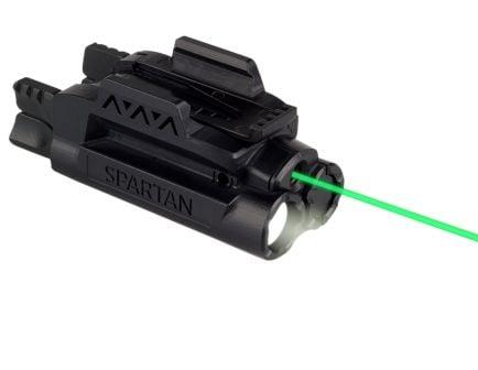 LaserMax Spartan Green Adjustable Fit Light and Laser Gunsight - SPS-C-G