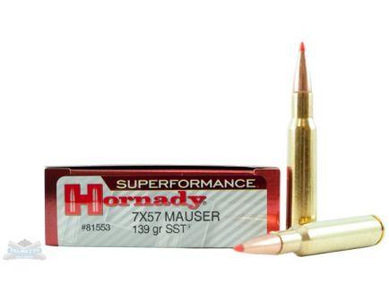 Hornady 7X57R Ballistics
