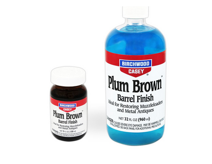 Birchwood Casey Plum Brown Barrel Finish 5oz  14130