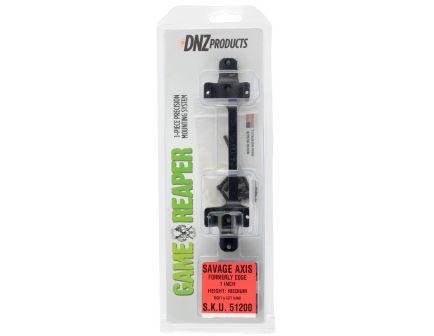 DNZ Game Reaper Savage Axis 1 inch Medium Aluminum 1-Piece Scope Tube, Matte Black - 51200