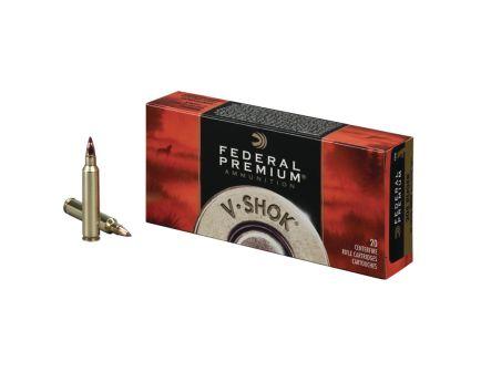 Federal 22-250 55gr Nosler Ballistic Tip V-Shok Ammunition 20rds - P22250F