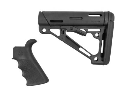 Hogue Beavertail Grip and Collapsible AR-15 Buttstock