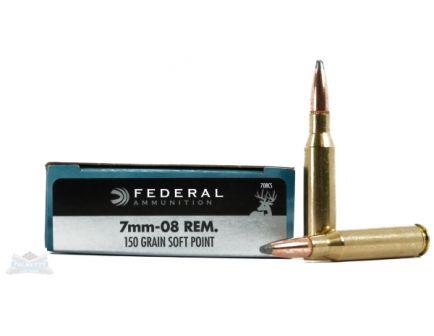 Federal 7mm-08 Rem Ammo