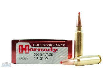 Hornady 300 Savage 150gr SST Superformance Ammunition 20rds - 82221