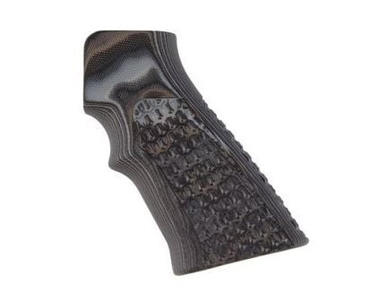 Hogue G-10 Grips for AR15/M16 Chain Link Pattern Black/Gray 15127