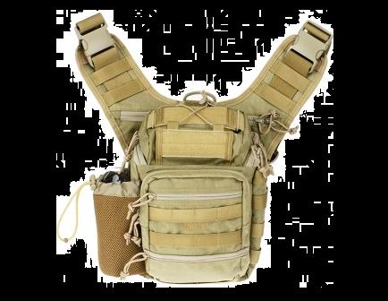 DRAGO Ambidextrous Shoulder Pack Tan 15303TN