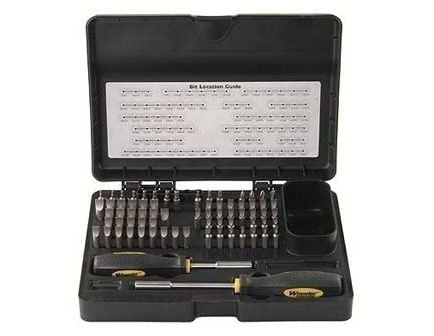 Wheeler Engineering 89-Piece Pro-Plus Gunsmithing Screwdriver Set 562194