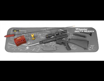 Wheeler Delta Series AR-15 Maintenance Mat 156824