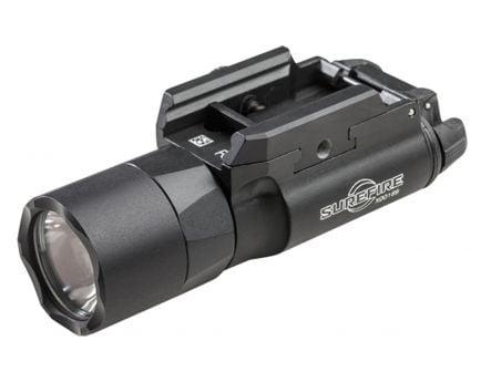 Surefire X300 Ultra 1000 lm LED Weapon Light w/ T-Slot Mounting Rail, Black - X300U-B
