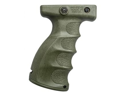 FAB Defense AG-44S Quick Release Ergonomic Foregrip, OD Green - FX-AG44SG