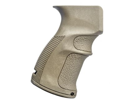 FAB Defense AG-47 Ergonomic Pistol Grip for AK-47/74, Flat Dark Earth - FX-AG47T