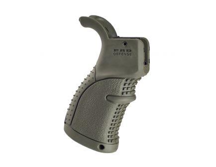 FAB Defense AGR-43 AR15 Rubberized Ergonomic Pistol Grip, OD Green - FXAGR43G