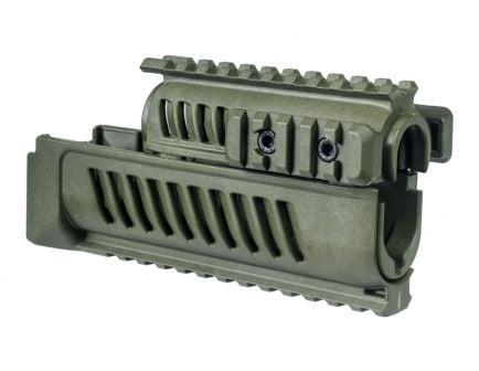 FAB Defense AK-47 Polymer Quad Rail Handguard, OD Green - FX-AK47G