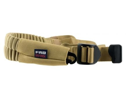 FAB Defense Bungee One Point Tactical Sling, Flat Dark Earth, - FX-BUNGEET