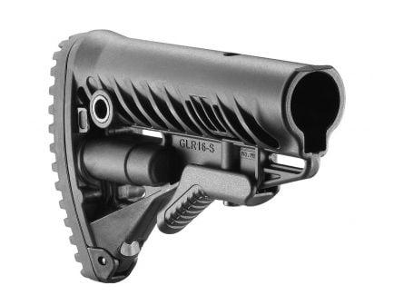 FAB Defense AR-15/M-16 Rifle Buttstock, Black-FX-GLR16B
