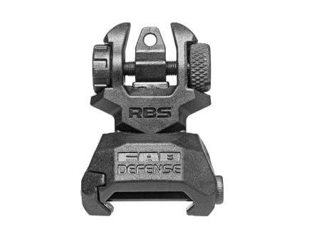 FAB Defense RBS Folding Rear Backup Sight, Black - FX-RBS