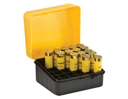 Plano Synergy 20 Gauge 25 Round Flip-Top Shotshell Case, Yellow/Black - 122001